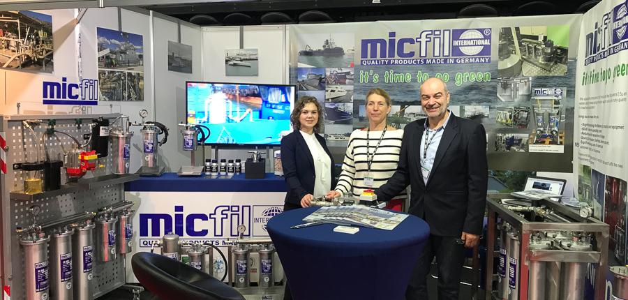 micfil ASDA 2019 booth