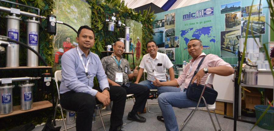 micfil 2019 Surabaya booth