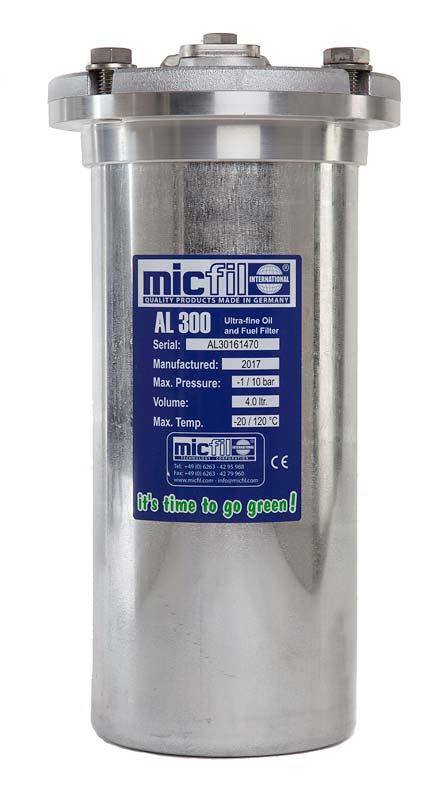 micfil Ultrafine Filter AL300