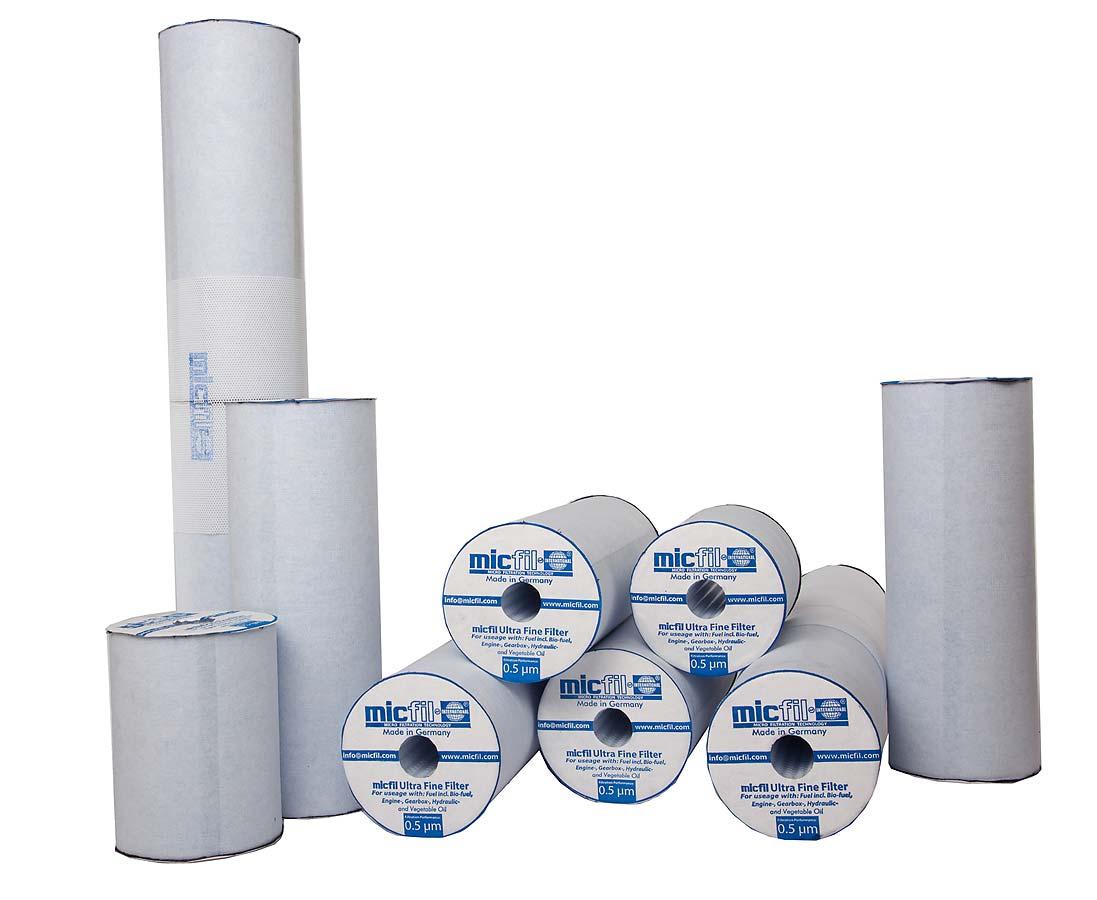 micfil Ultrafein Filter Inlets