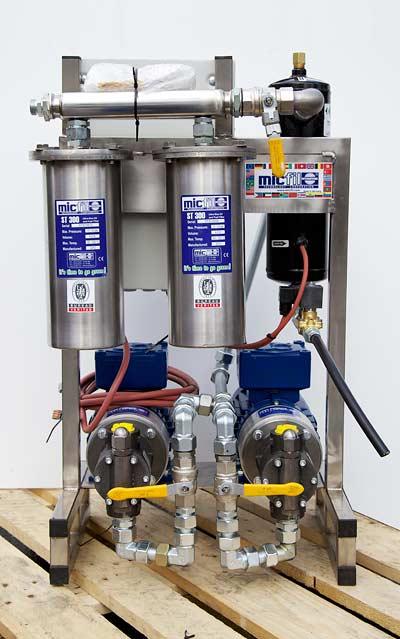 4 x micfil AL600-System mit Wasserseparator