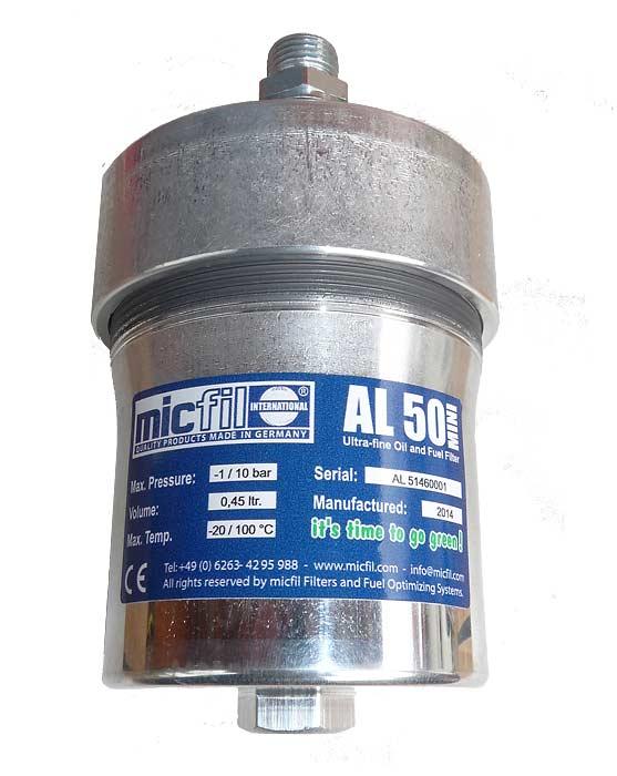 micfil Ultrafine Filter AL50 Mini