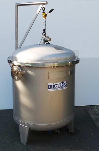 Micfil FB Bulk Filter Ultra Fine - Stationary System, FB 1000