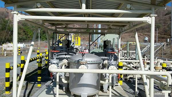 Micfil FB Bulkfilter - Deployment  in a diesel tank farm for Pertamina/Indonesia.