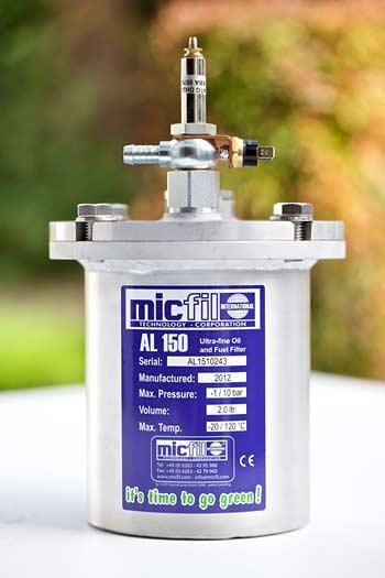 micfil Filter heating
