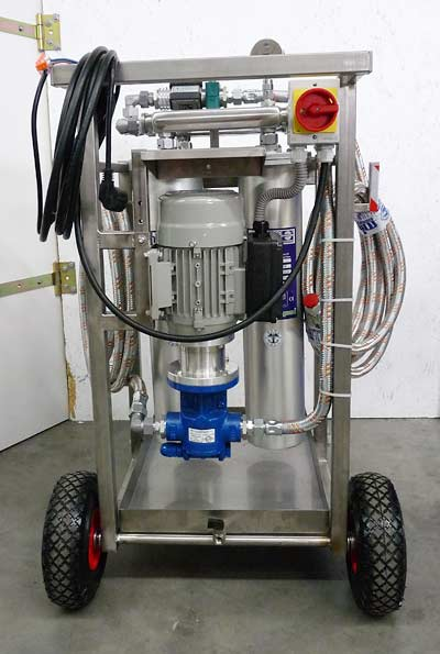 Micfil-Mobile tank cleaning system-3600