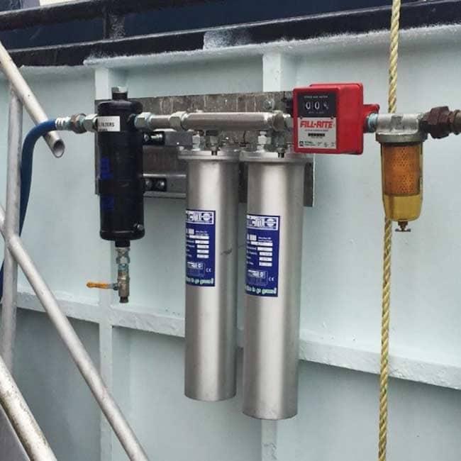Micfil Ultrafein Filter installed on Northwestern