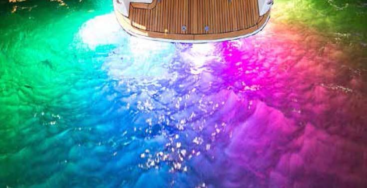 Micfil Unterwasserlampe Lightshow