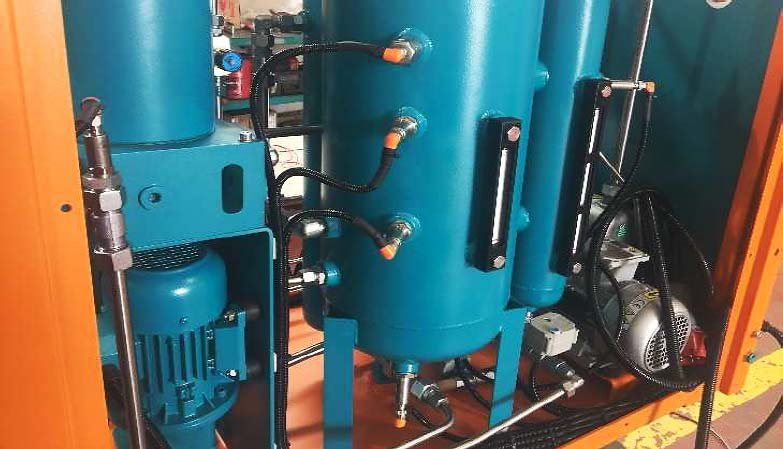 micfil Vacuum oil dehydration unit