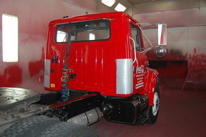 Truck - NACH der Behandlung mit micfil ToughGuard-NHP