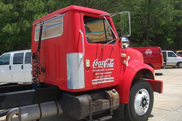 Truck - Vor der Behandlung mit micfil ToughGuard-NHP